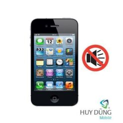 sửa iPhone 4 mất âm thanh