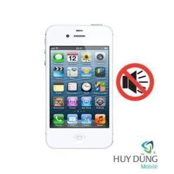 Sửa iPhone 4s mất âm thanh