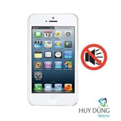 Sửa iPhone 5 mất âm thanh