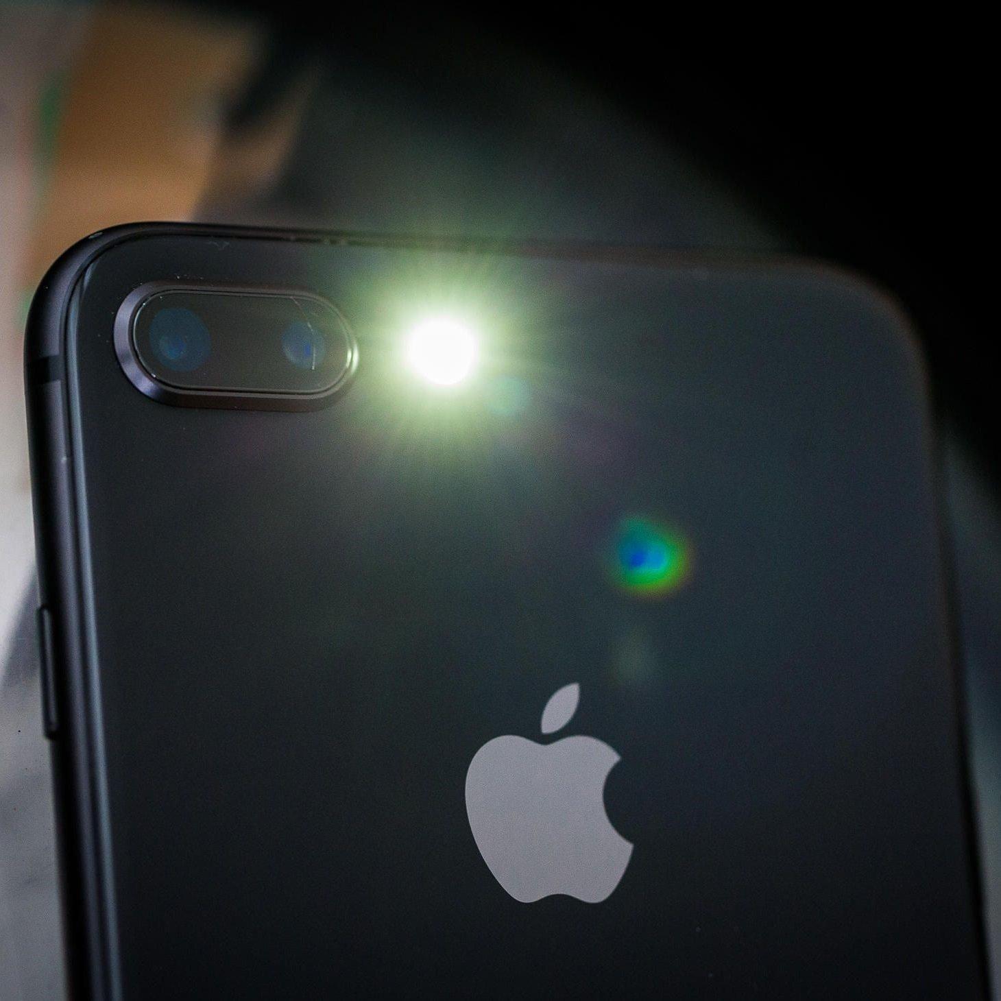 đèn pin iphone