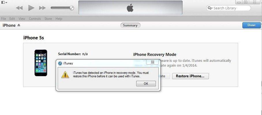 iphone không lên nguồn