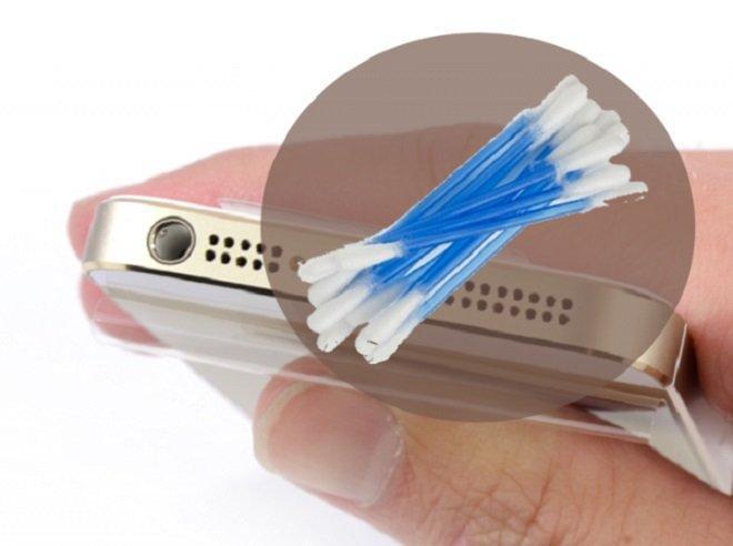 iphone không nghe được loa trong