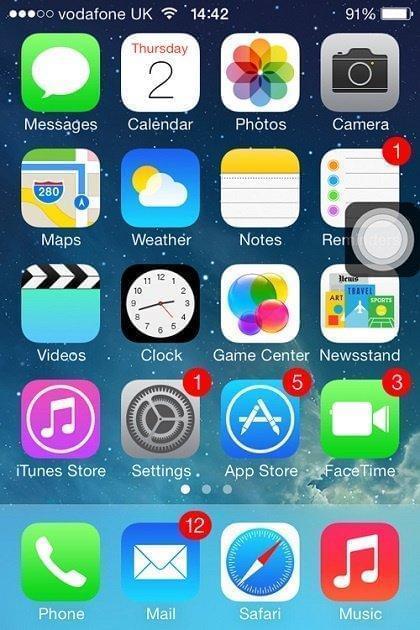 mở nguồn iphone