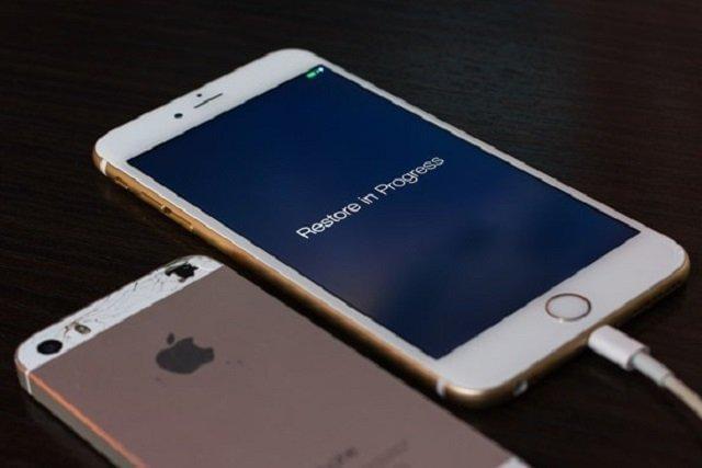 xoay màn hình iphone