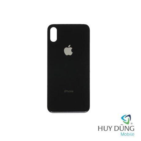 kính lưng iphone x đen