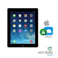 Xóa tài khoản iCloud iPad 4