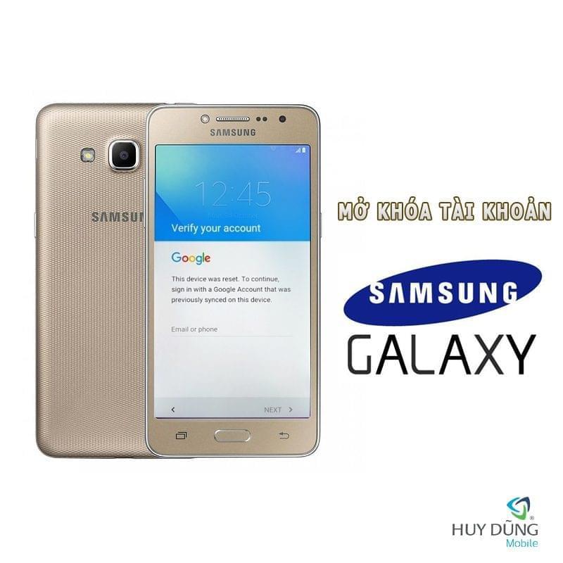 Xóa tài khoản Samsung