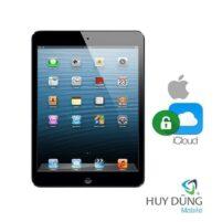 Xóa tài khoản iCloud iPad Mini 2