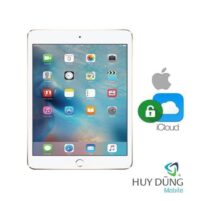 Xóa tài khoản iCloud iPad Air 3