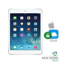 Xóa tài khoản iCloud iPad Air
