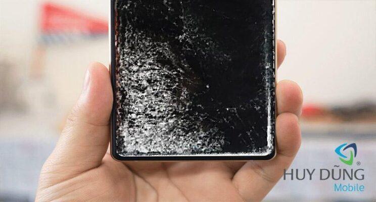 Điện thoại Samsung Note 10, Note 10 Plus bị vỡ mặt kính