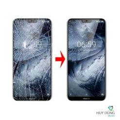 Thay mặt kính Nokia 6.1 Plus