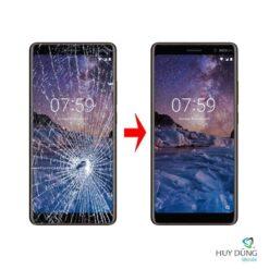 Thay mặt kính Nokia 7 Plus