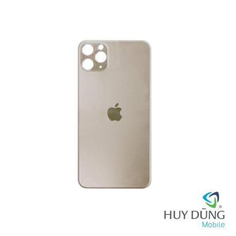 thay kính lưng iphone 11 pro gold