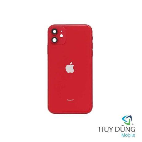 Thay vỏ iPhone 11 đỏ