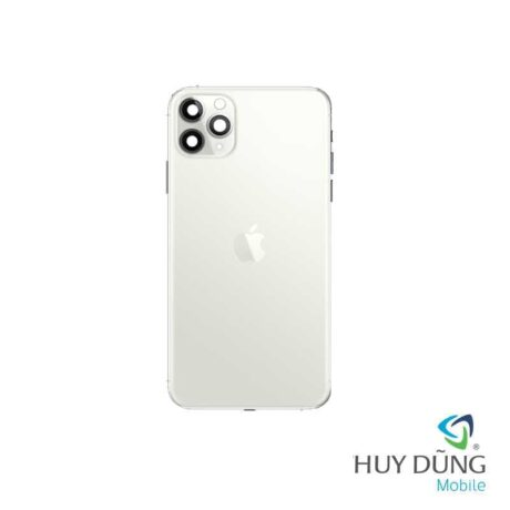 Thay vỏ iPhone 11 Pro Max vàng trắng