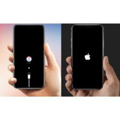 Sửa iPhone bị treo táo, treo cáp
