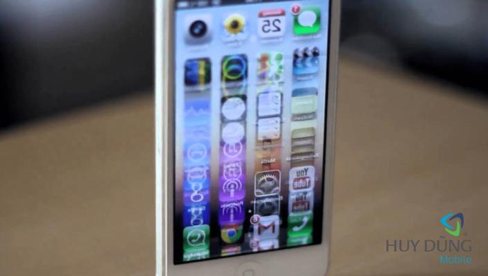 Khắc phục màn hình iPhone bị giật