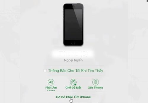 4 bước tìm iPhone bằng iCloud