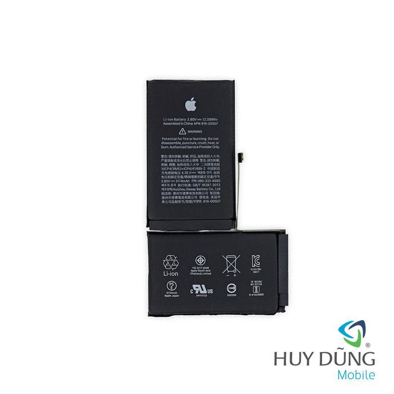 Thay pin iPhone X bóc máy
