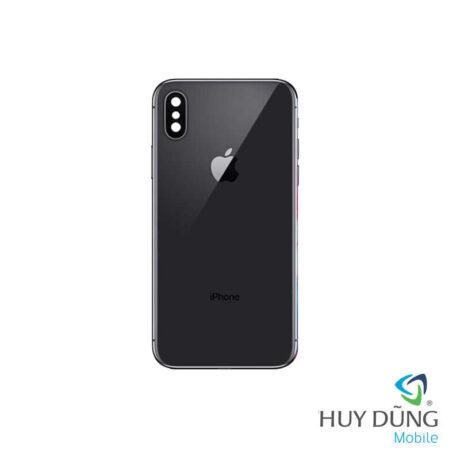 Độ vỏ iPhone 6 Plus lên iPhone X den