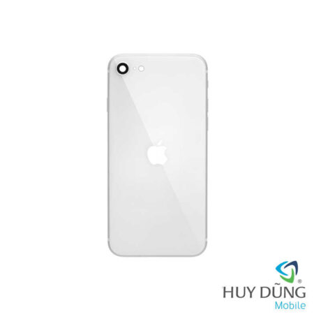 Độ vỏ iPhone 7 lên iPhone 8 trắng
