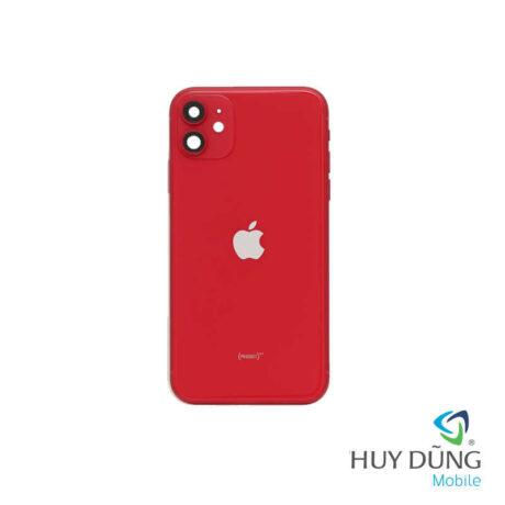 Độ vỏ iPhone Xr lên iPhone 11 đỏ
