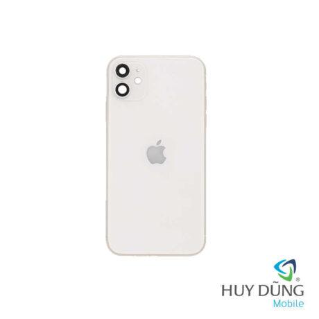 Độ vỏ iPhone Xr lên iPhone 11 trắng
