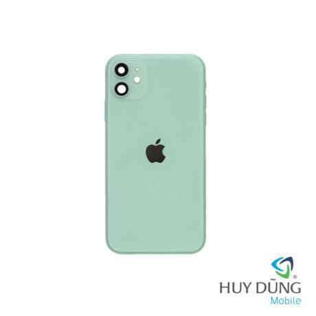 Độ vỏ iPhone Xr lên iPhone 11 xanh mint