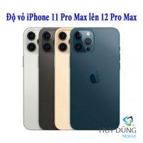 Độ vỏ iPhone 11 Pro Max lên iPhone 12 Pro Max
