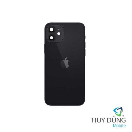Độ vỏ iPhone X lên iPhone 12 đen