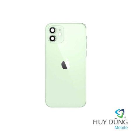Độ vỏ iPhone X lên iPhone 12 xanh navy
