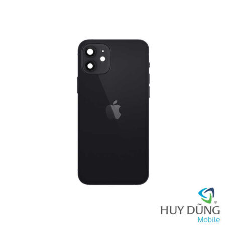 Độ vỏ iPhone Xr lên iPhone 12 đen