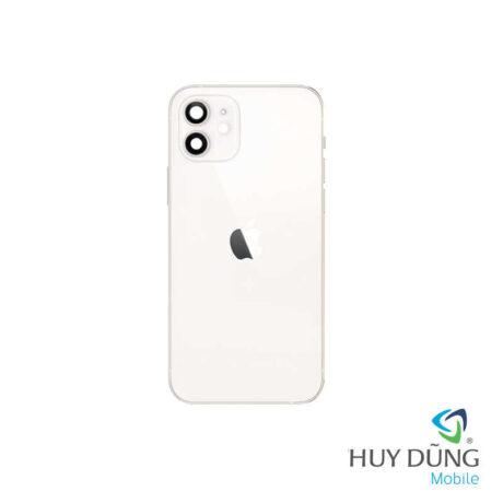 Độ vỏ iPhone Xr lên iPhone 12 trắng