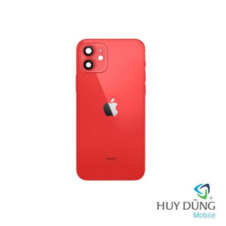 Độ vỏ iPhone Xs lên iPhone 12 đỏ