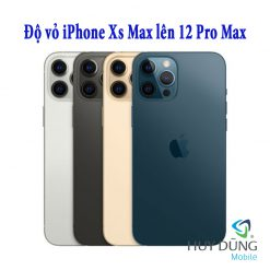 Độ vỏ iPhone Xs Max lên iPhone 12 Pro Max