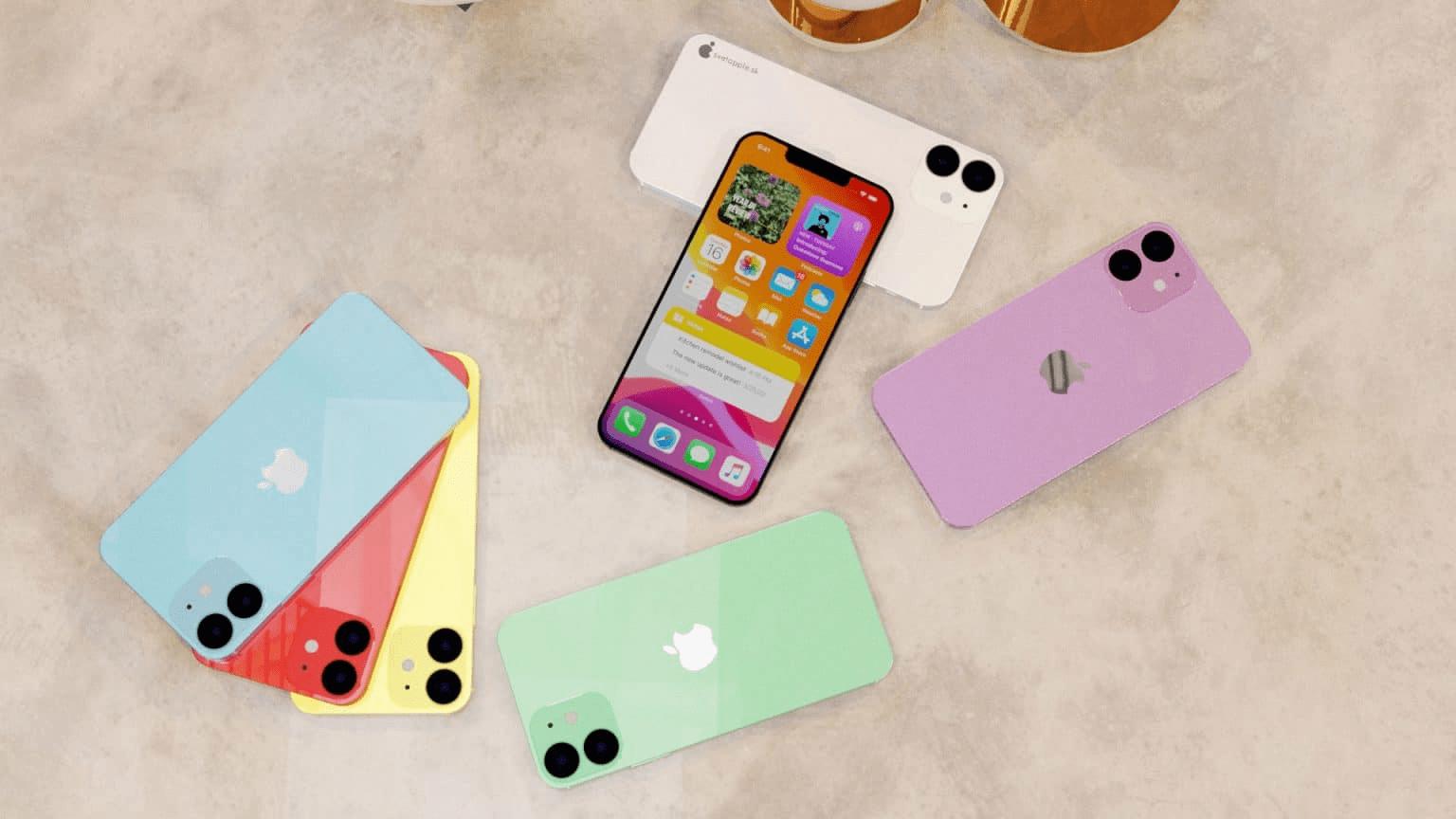Hãy thử tưởng tượng ra màu sắc của những chiếc iPhone 12