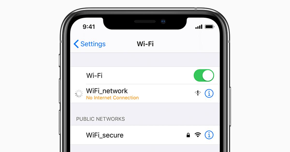 Sửa lỗi iPhone 11 Pro Max không nhận Wifi