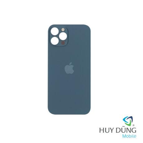 thay kính lưng iphone 12 pro max xanh