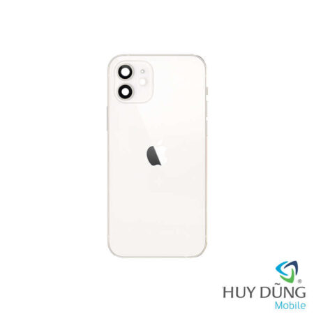 Thay vỏ iPhone 12 trắng