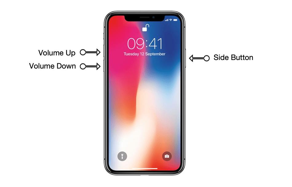 Khởi động lại iPhone X, Xs Max và Pro Max nhanh chóng