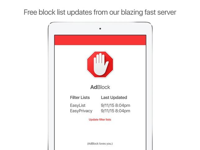 ứng dụng Adblock Browser 2.0