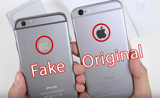 Kiểm tra logo Apple