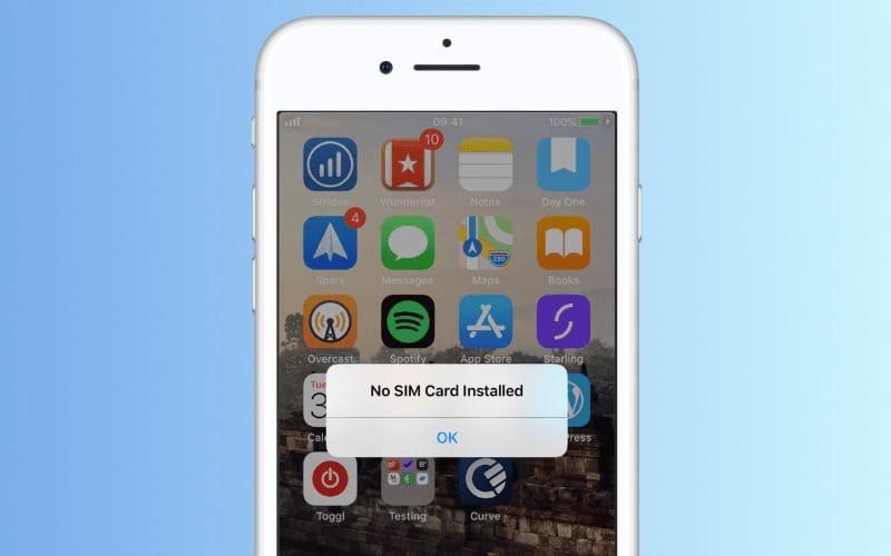 IPhone 11 Pro Max không nhận SIM thì phải làm gì?