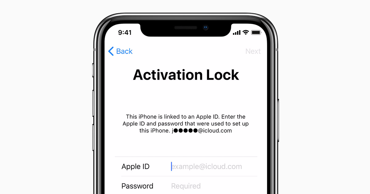 Apple sẽ yêu cầu Activation Lock ở lần đầu tiên kích hoạt iPhone