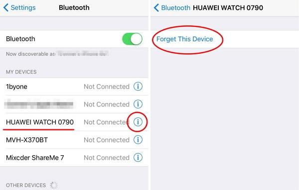 Xóa rồi thêm lại thiết bị Bluetooth của bạn