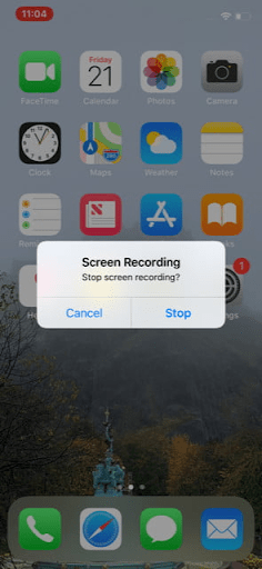 Cách quay màn hình điện thoại iPhone 11 nhanh chóng và đơn giản