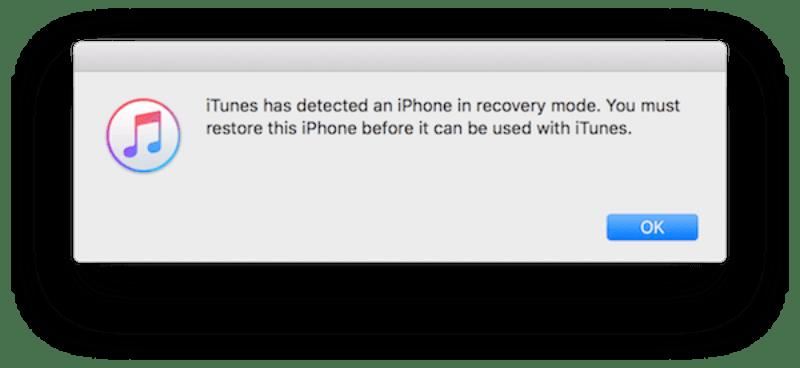 Sửa iPhone bị treo logo bằng cách khởi động ở chế độ DFU