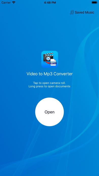 Sử dụng ứng dụng chuyển đổi video sang âm thanh từ App Store