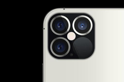 Máy ảnh sau của iPhone 12 gồm ba camera và một cảm biến LiDAR